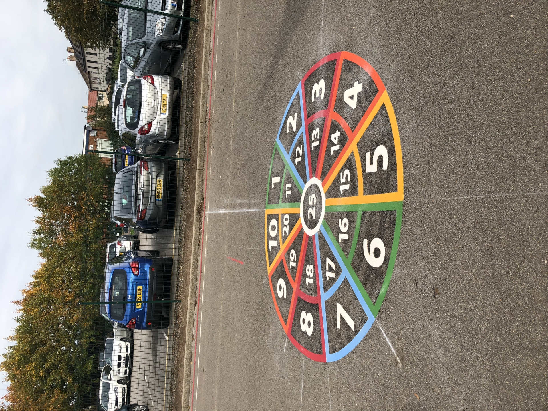 PLAYGROUND MARKINGS TARGETS
