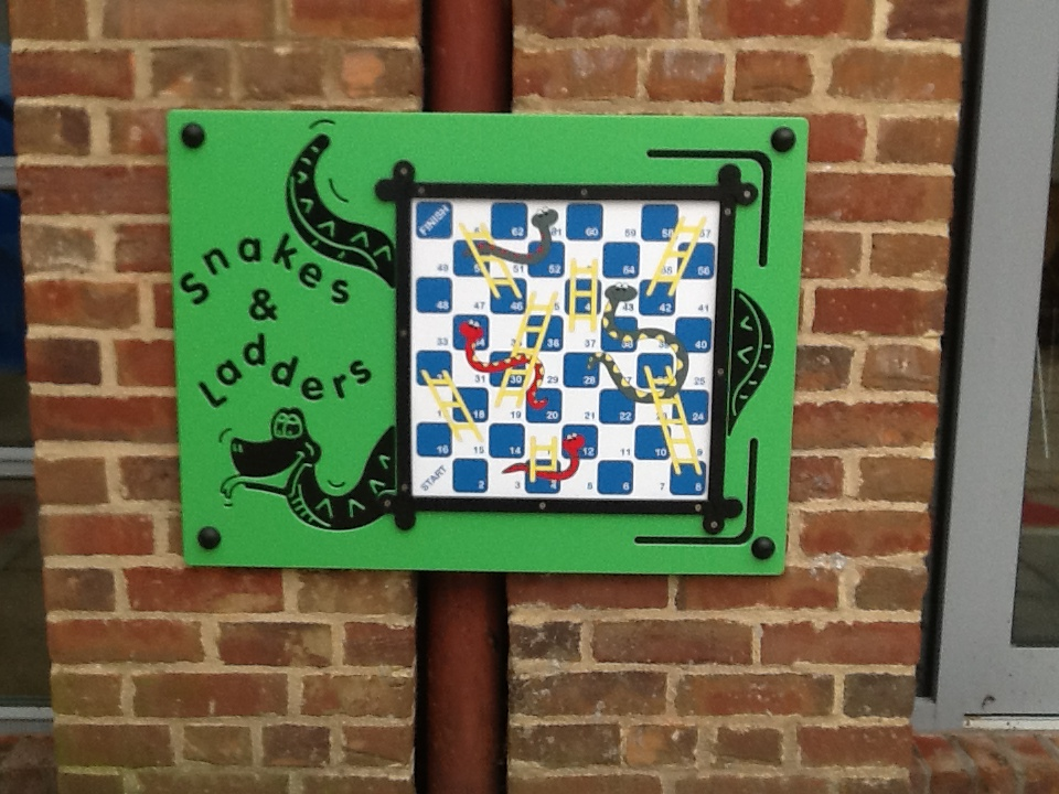 Snakes & Ladders Magnetic Wall Panel