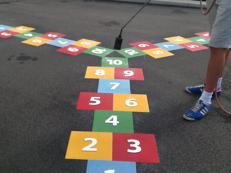 Tri-way Hopscotch