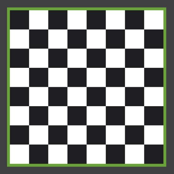 Chess Board 2.5 x 2.5