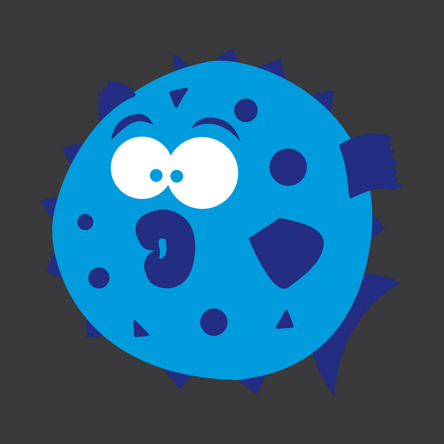 Blowfish 0.4m x 0.4m
