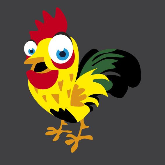 Chicken 1m x 1m
