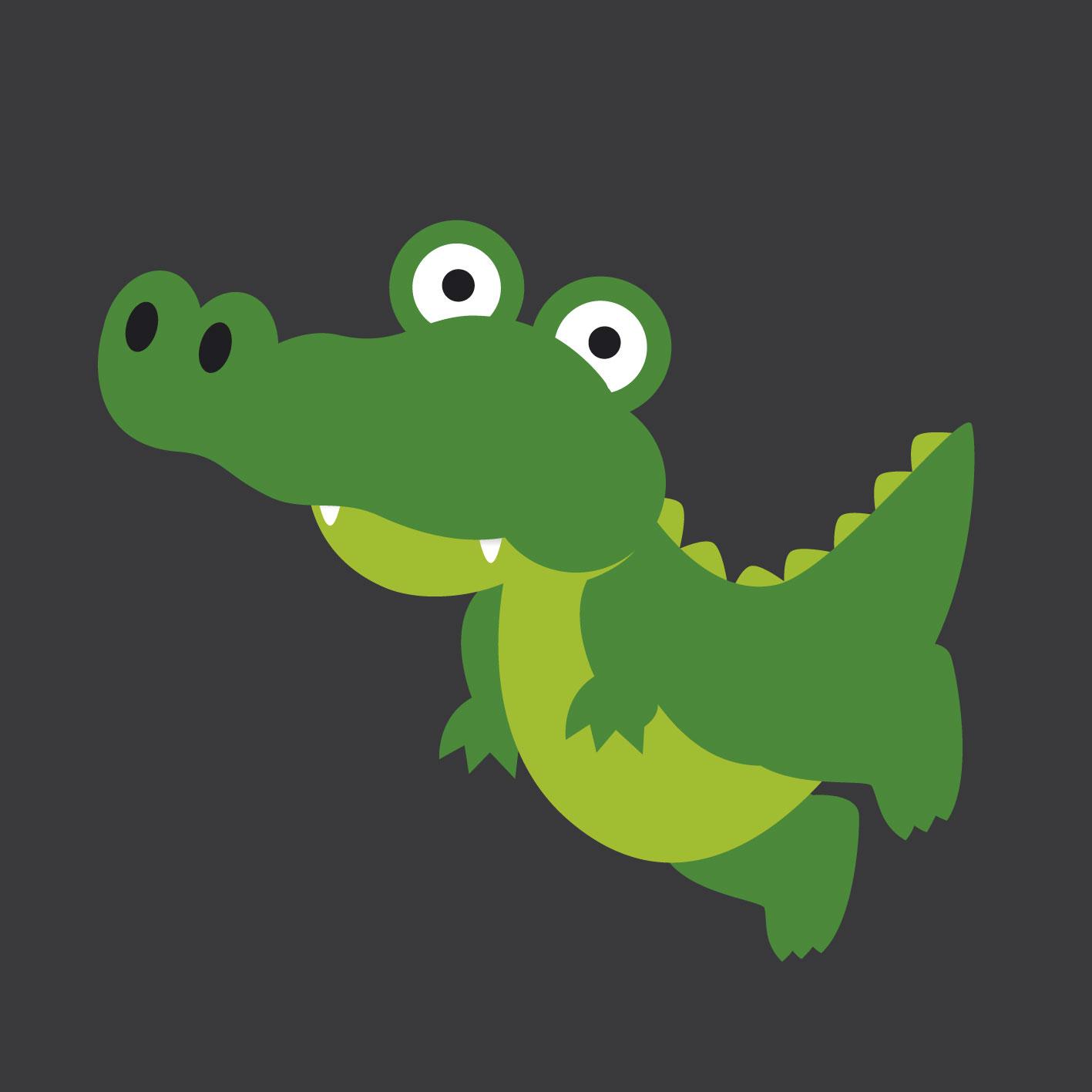 Crocodile 0.75m x 0.75m