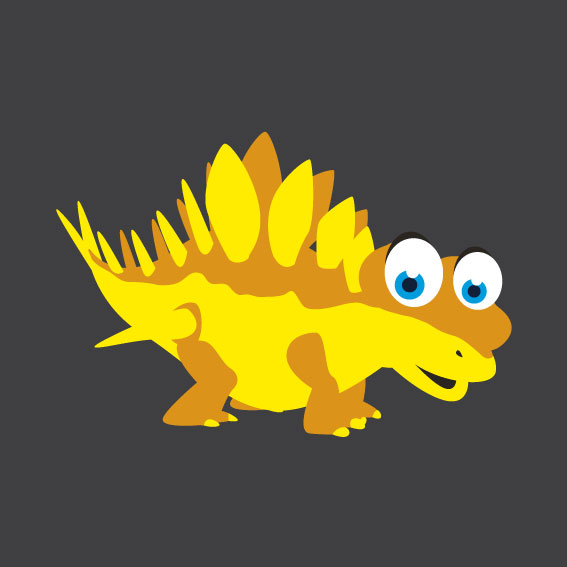 Dinosaur 4    1m x 1m
