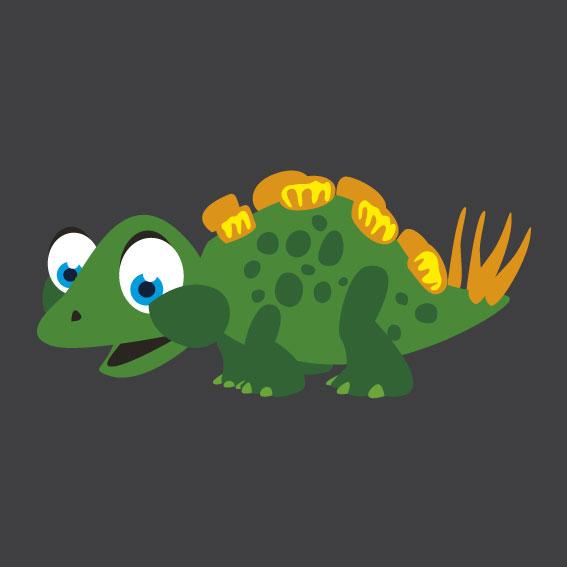 Dinosaur 7    1m x 1m