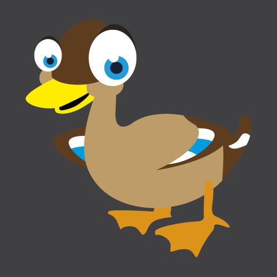 Duck 1m x 1m