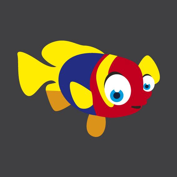 Fish 3    1m x 1m
