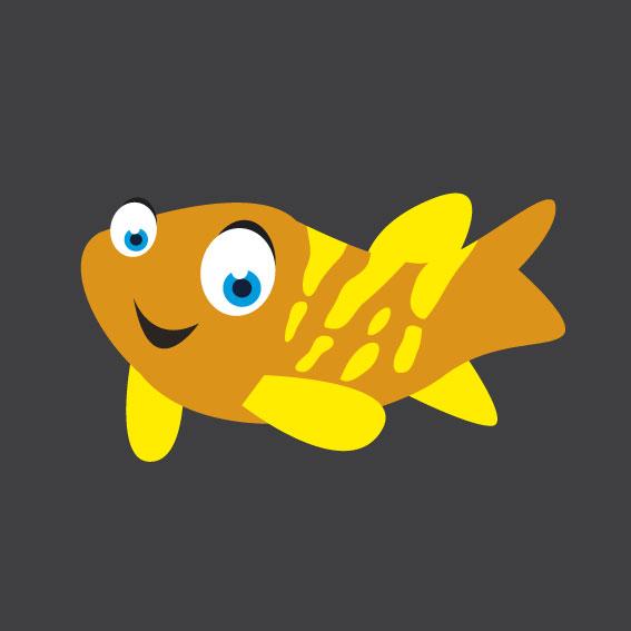Fish 4    1m x 1m