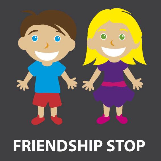 Friendship Stop 1.6m x 1.4m