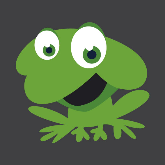 Frog 1m x 1m