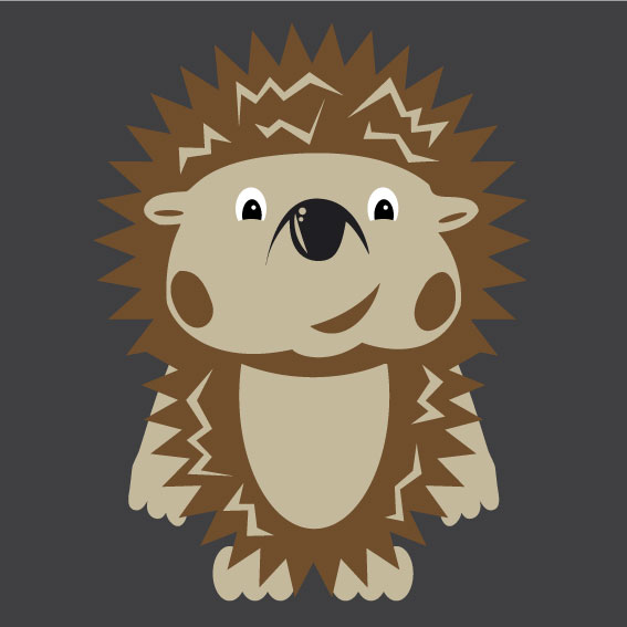 Hedgehog 1m x 1m