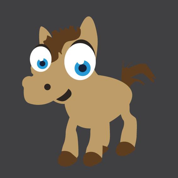 Horse 2    1m x 1m