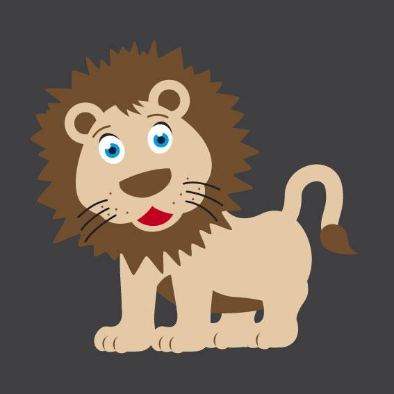 Lion 1m x 1m