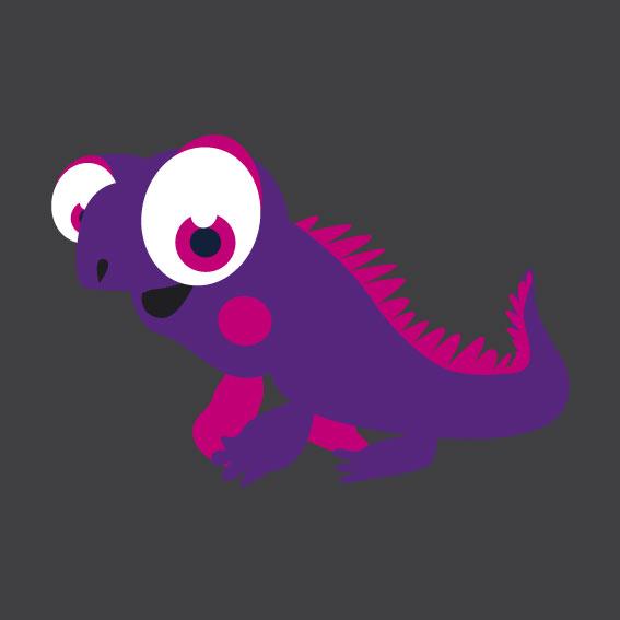 Lizard 1m x 1m