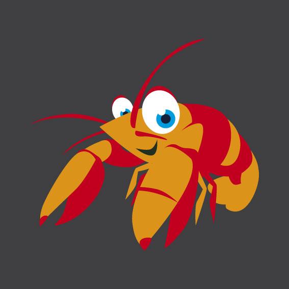 Lobster 1m x 1m