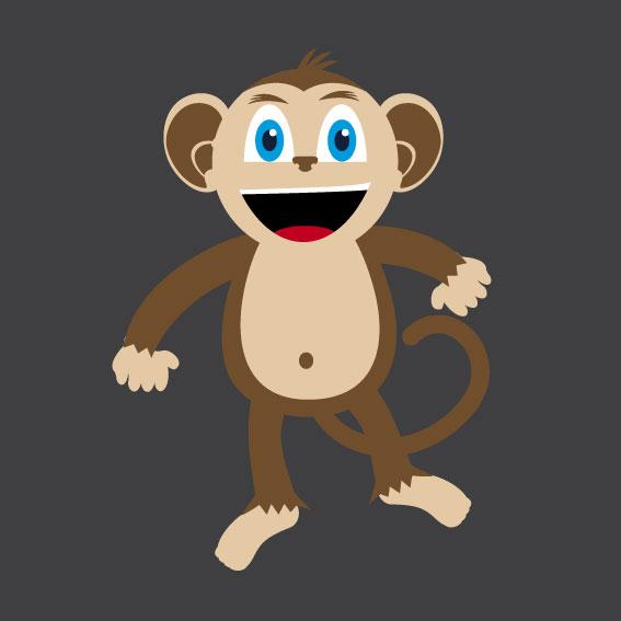 Monkey 1m x 1m