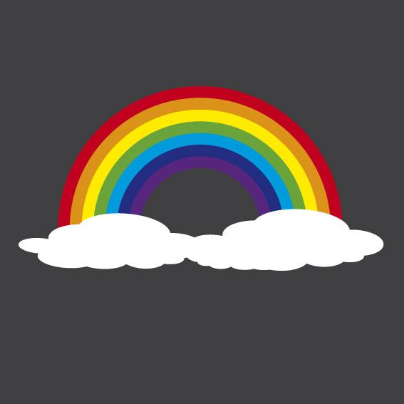 Rainbow 1m x 1m