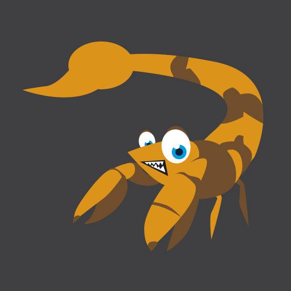 Scorpion 1m x 1m