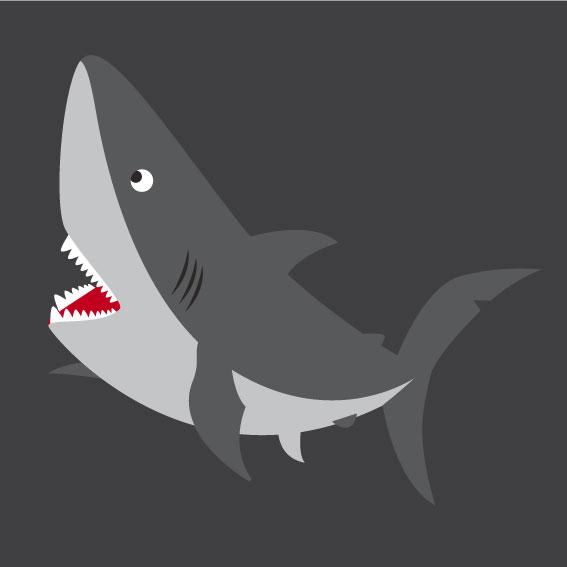 Shark 1m x 1m
