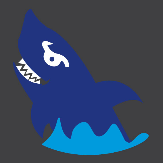 Shark with Wave 0.4m