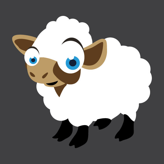 Sheep 1m x 1m