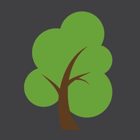 Tree 0.7m x 0.7m