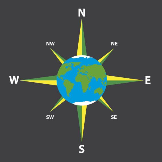 Compass Earth 3m diameter