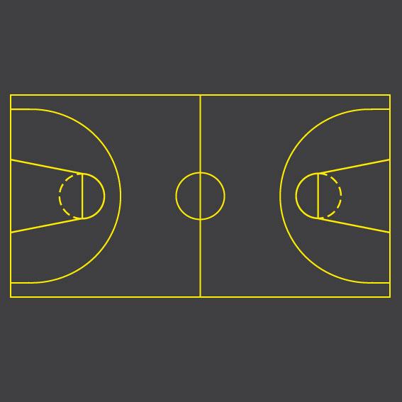 Basketball Court 30m x 15m