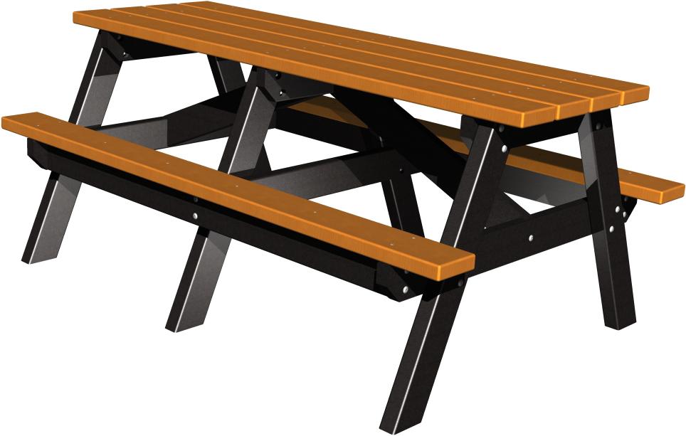 Senior  A-Framed Picnic Table (2 Tone)