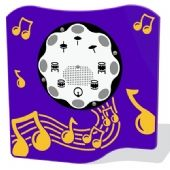 PlayTronic Drums Musical Play Panels