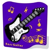 Play Tronic Bass Guitar Musical Play Panel
