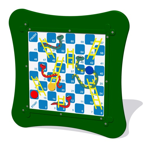 MagPlay Wall Panel - Snakes and ladders