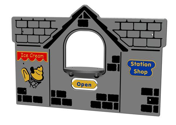Train Station Shop Panel