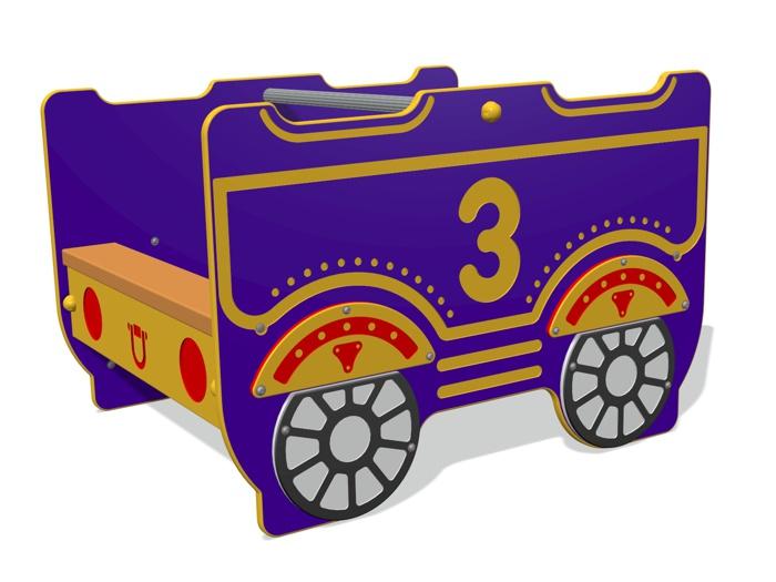 Steam Express Train Carriage 3