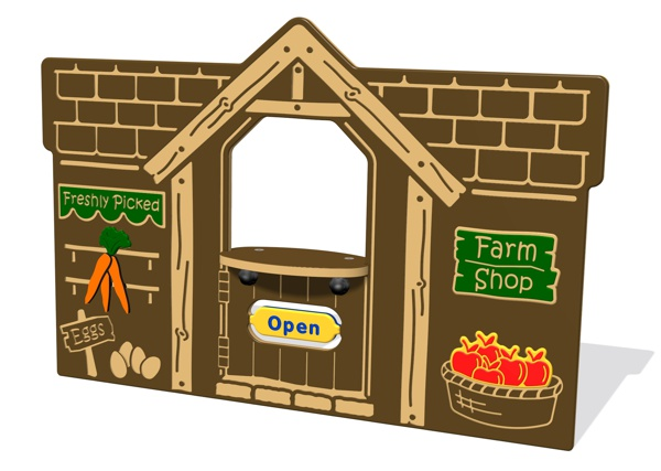 Farm Shop Play Panel