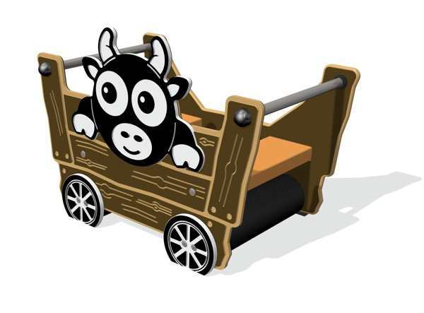 Early Years Cow Trailer