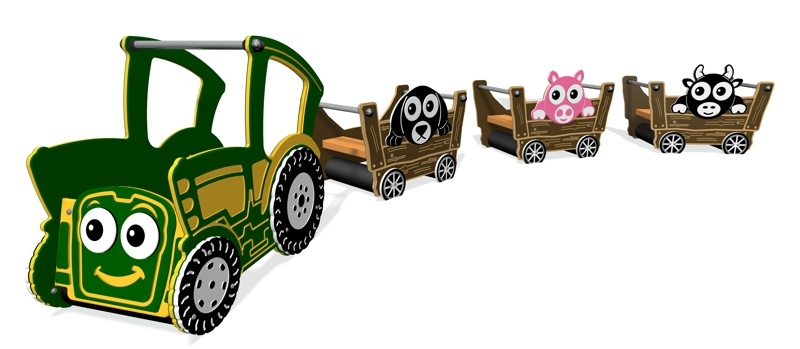 Toby the Tractor & Trailer Set