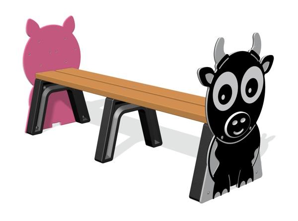 Farm Animal Bench