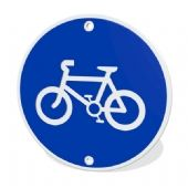 Cycle Route Street Sign