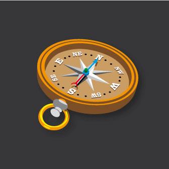 NEW 3D Compass  3m