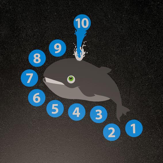 Whale Target 1.4m x 1.4m