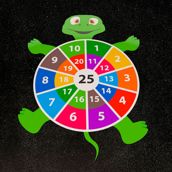 Turtle Target 2.5m
