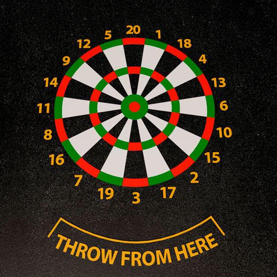 Dartboard Target 3m Diameter