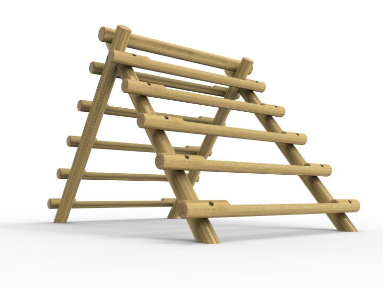 A-Frame Log Climber - Large