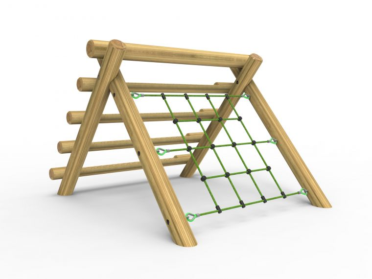 A-Frame Log & Net Climber- Small