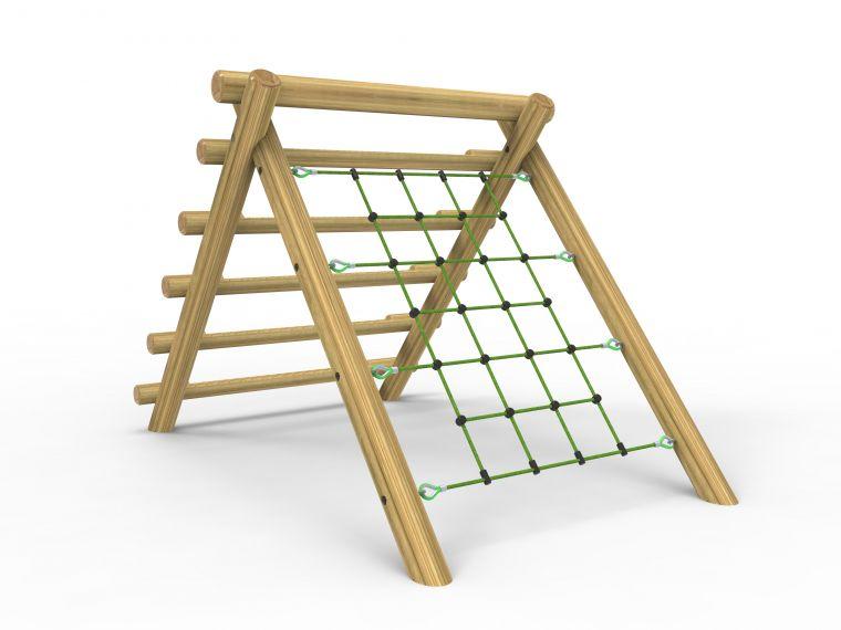 A- Frame Log & Net Climber- Large