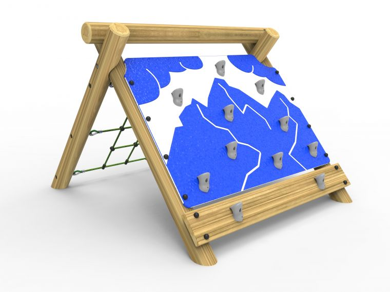 Premium Rock Wall and Net Climber-Small