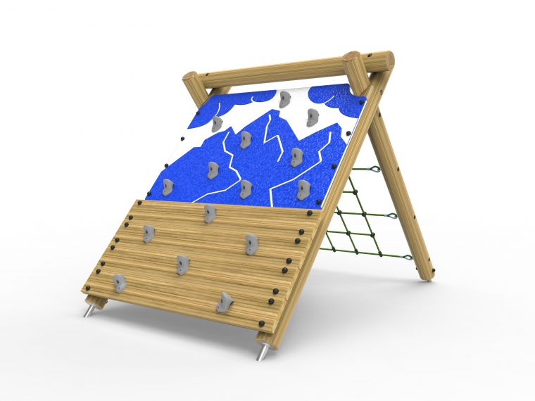 Premium Rock Wall and Net Climber-Large