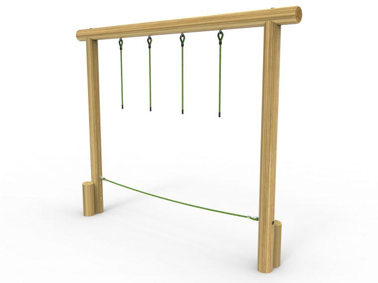 Hanging Rope Traverse