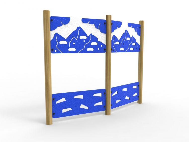 Gap Climbing Wall Traverse - Premium